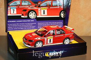 Slot-SCX-Scalextric-UK-C2364A-Mitsubishi-Lancer-Evolution-7-WRC-Nummer-N-8-Neu