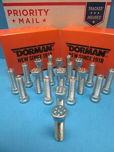 20 Wheel Lug Stud Bolt Front Rear Replace Audi OEM # 443601139D