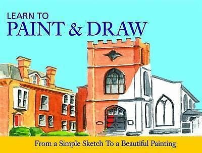 """""""AS NEW"""" , Learn to Paint and Draw (Learn to 192), Paperback Book"""