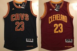 dc93115e4f2 Image is loading Lebron-James-23-Cleveland-Cavaliers-Basketball-Swingman -Navy-