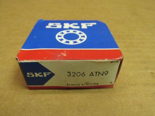 """NIB SKF 3206ATN9 ANGUALR CONTACT BEARING 3206 ATN9 30mm ID x 62mm OD x 13//16/"""" W"""