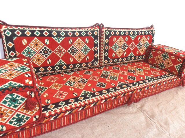 Furniture Floor Seating Arabic Cushions