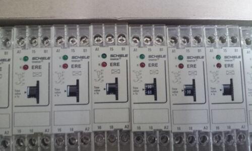 ENTRELEC SCHIELE TIMETRON ERE ON DELAY TIMER 3-300 Sec  A1//A2 24VAC 2.550.108.21