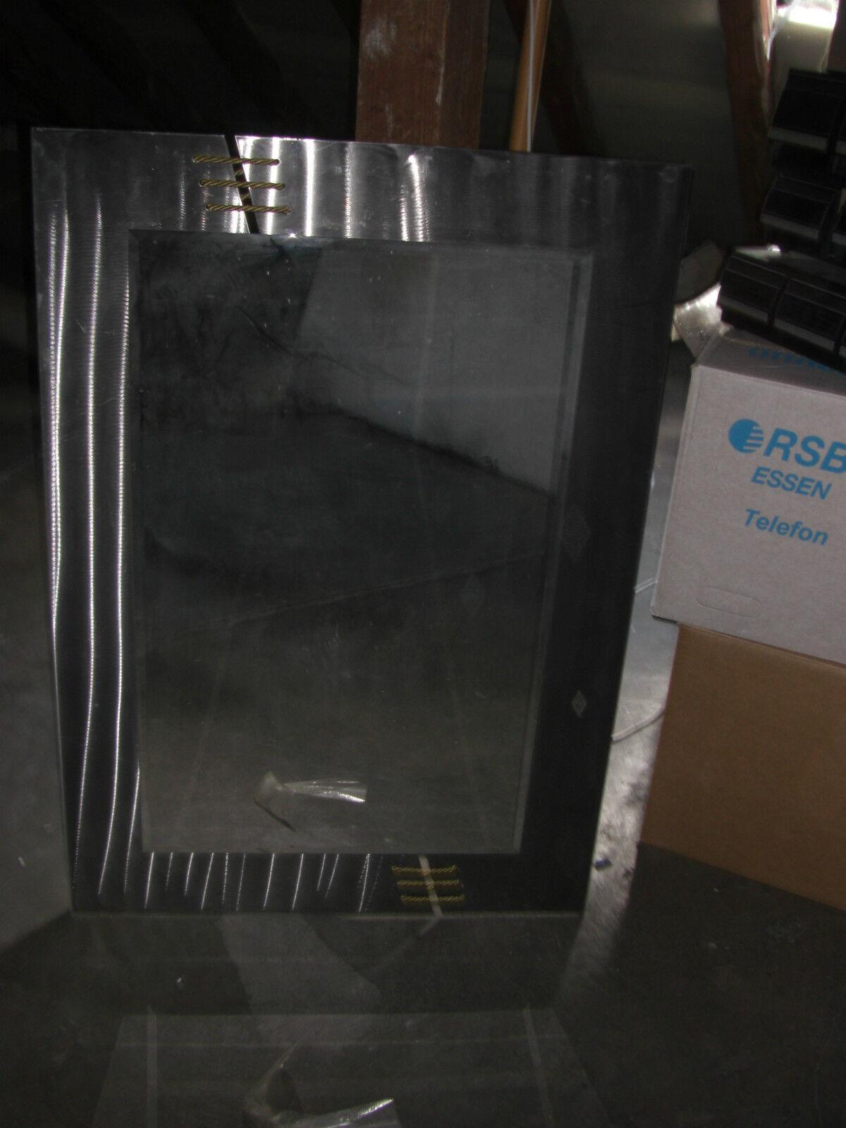 Großer WANDSPIEGEL Metall sehr gut erhalten Gesamt 100x70cm Spiegel 80x50   TOP