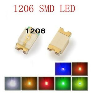 10-Stk-SMD-1206-gruen-leds-1206G-ogeled-SMD-green-LEDs