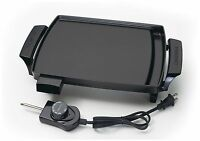 Presto Small Liddle Griddle Portable Kitchen Counter Grill Electric Cooking