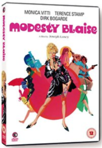 Rossella-Falk-Scilla-Gabel-Modesty-Blaise-UK-IMPORT-DVD-NEW