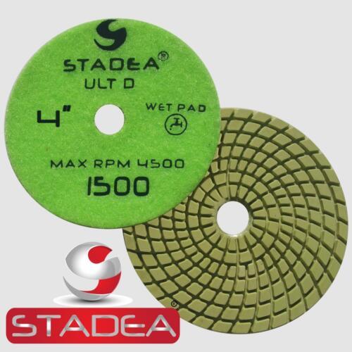 """Stadea Granite Polishing Pads Kit 4/"""" Diamond Pads For Granite Quartz Polishing"""