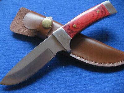 Ehrlichkeit Jagdmesser Messer Nicker Sammlermesser Jagdnicker 440 Stahl Gürtelmesser 141110