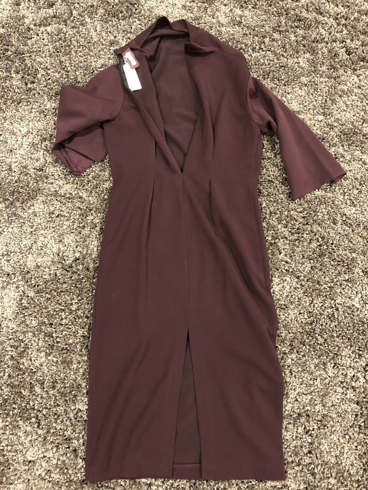 DUSICA KOTUR FITTED WOMENS WOMENS WOMENS GABARDINE  DRESS ,SIZE M ,NWT 222ad4