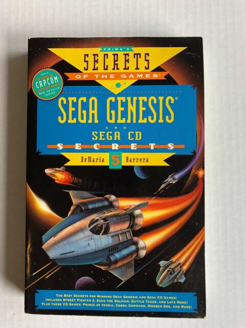 Sega Genesis and Sega CD Secrets 5 game book