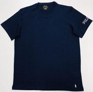 Polo-Ralph-Lauren-Crew-Neck-T-Shirt-In-Navy-Blue