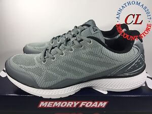 b1fada37e66e6 Details about FILA Men's Startup Memory Foam Sneaker/Running Shoes  Grey/black pick size