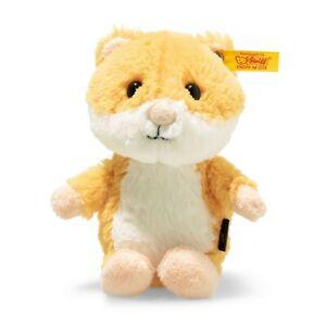 Bien Steiff 073816 Souple Cuddly Friends Happy Hamster 14 Cm Lissage De La Circulation Et Des Douleurs D'ArrêT
