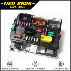 details about genuine engine bay fuse box (bsm) for citroen c3 picasso peugeot 207, 6500hw Citroen C5 Aircross