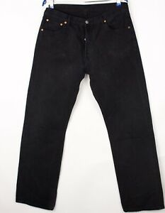 Levi's Strauss & Co Hommes 501 Jeans Jambe Droite Taille W36 L34 BDZ665