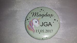 Einhorn Unicorn Buttons Jga Braut Junggesellinnenabschied Button Wohltuend FüR Das Sperma Braut-accessoires Hochzeit & Besondere Anlässe B119