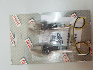 Shin-Yo-203-886-Peak-schwarz-getoehntes-Glas-LED-Blinker-kurz