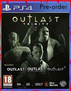 Outlast Trinity Playstation 4 Ps4 Brand New Outlast 2 Horror Game