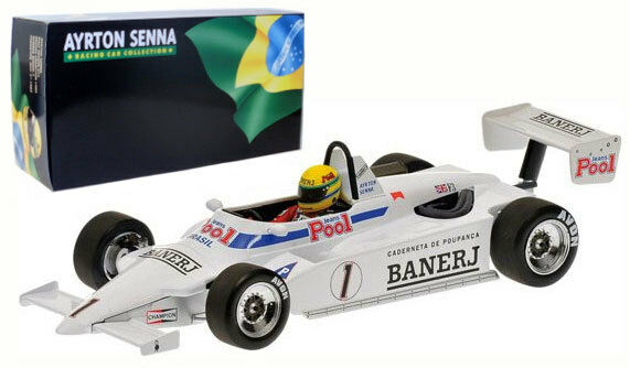 Minichamps Ralt RT3 Thruxton British F3 Champion 1983 - Ayrton Senna 1 18 Scale