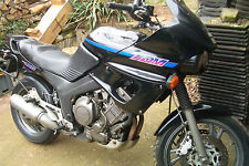 Yamaha TDM 850 3VD Schwarz Verkleidung hinten Heck Bürzel