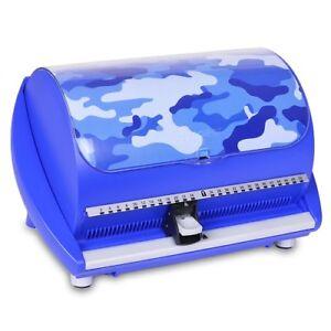 DiscGear-Selector-50FX-50-Disc-CD-Case-w-Title-Sheet-Blue