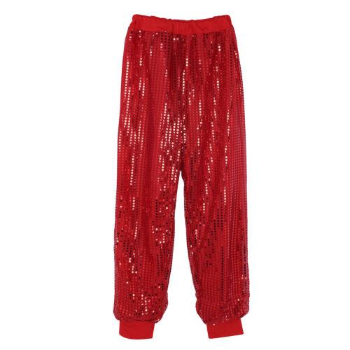 Women Belly Pants Yoga Sport Daily Wear Dance Glitter Hiking Trousers Club Wear