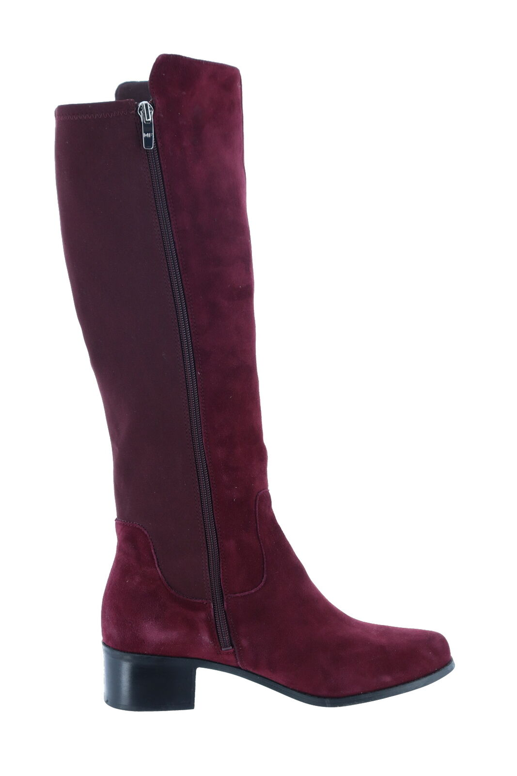 Marc Shaft Fisher Medium Calf Leder Shaft Marc Stiefel Burgundy 10M NEW A295884 6eb3a1