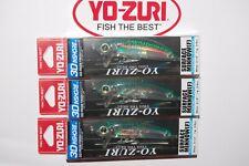 "Yo-Zuri 3 1//2/"" Surface 3//8oz  Bait New Pack R1215-HGM"