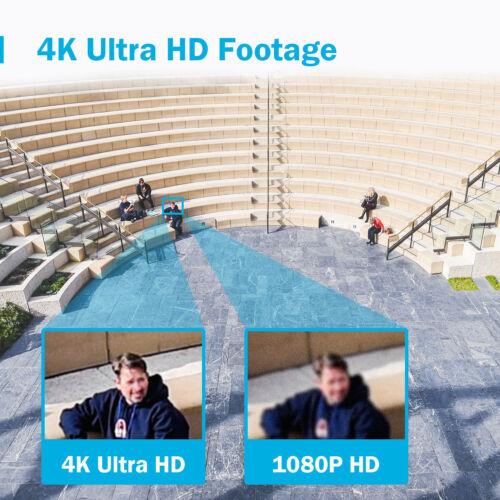 ANNKE 8MP 4K POE Überwachungskamera Network Kameras EXIR Nachtsicht Fernzugriff