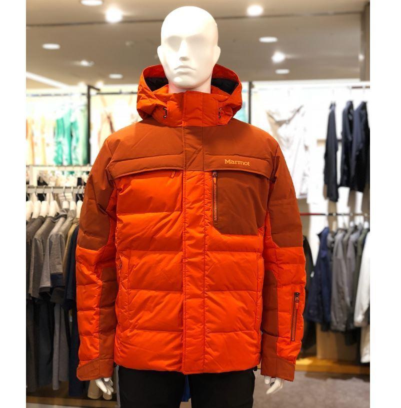 Marmot uomo ombra 700 Fill Down Jacket arancia MSRP  350