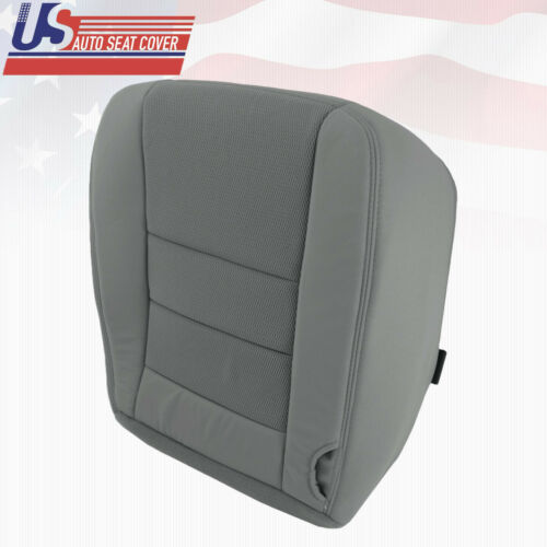 2003 to 2007 Ford F-250 F-350 F-450 XLT Driver Side Bottom Cloth Seat Cover Gray
