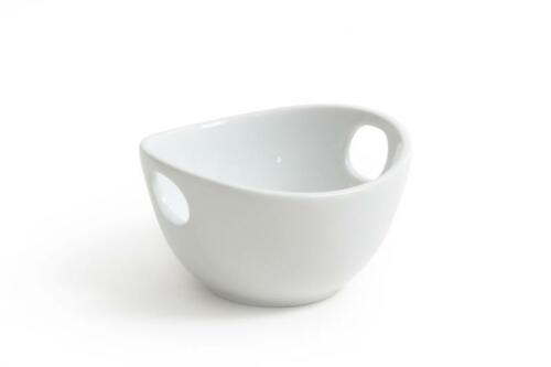 Porcelain WHITE designs set dish serving BOWL special catering and restaurant