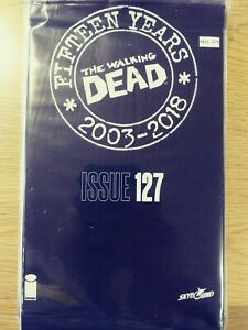 WALKING-DEAD-127-NM-15-YEAR-ANNIVERSARY-BLACK-POLYBAGG-SEALED-PA11-348