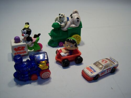 Vintage 90's Assorted Train & Car Children's Toy Lot