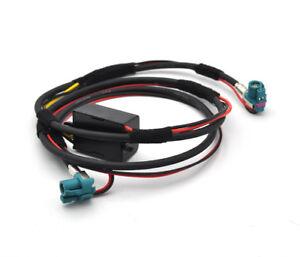 Details about For BMW F10 F20 F25 F30 F15 NBT display EVO CID Video Cable  Retrofit transformer