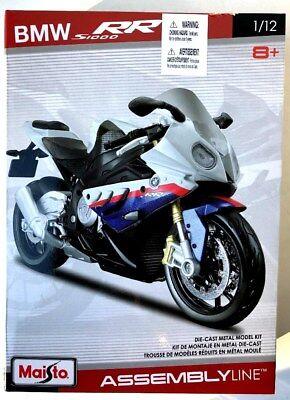 Maisto 1:12 BMW S1000RR Assembly Kit Motorcycle Bike Model
