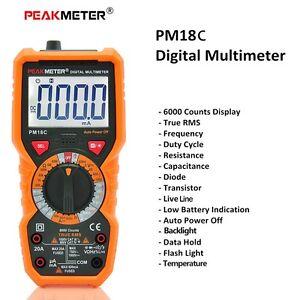 PM18C-Polimetro-Multimetro-Tester-Digital-Capacimetro-Frecuencia-Temperatura-hFE
