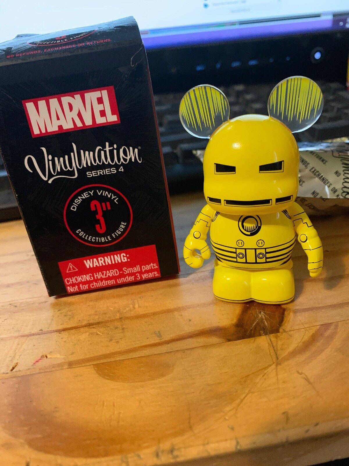 Vinylmation Marvel Series 4 Ironman Mk 2 Rare Variant