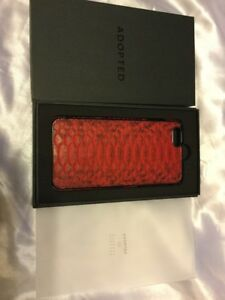 differently d34c9 89532 Details about New Barney's Of New York IPhone 6 Plus Red Python Leather  Phone Case