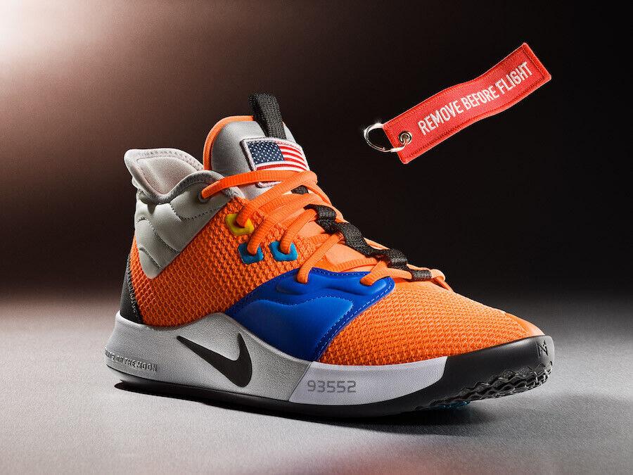 best website 0a964 ddac8 Nike PG 3 NASA Size 8. 8. 8. CI2666-800 jordan kobe