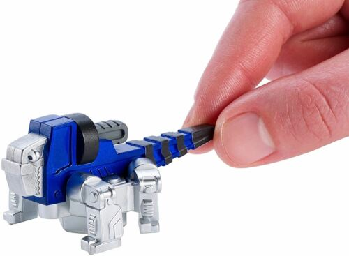 Mattel DWP75 Dinotrux Reptool Rollers Mini Grouter Vehicle Toy