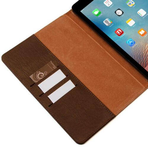 """COVER in pelle Premium Apple iPad Pro 9.7/"""" Tablet Custodia Protettiva Case Borsa Marrone"""