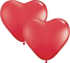 Valentines Heart Shaped Balloon Anniversary Wedding  Party Decorations Ballons