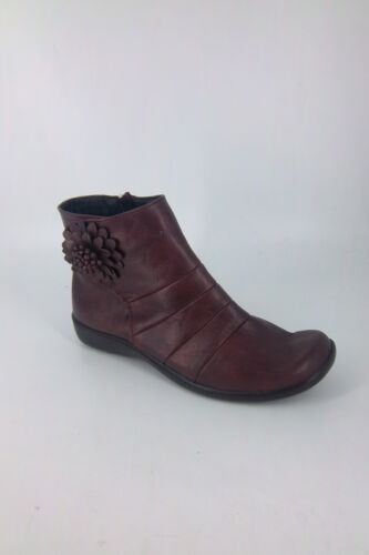 05 5 Flower Trader's Nh180 Yy Burgundy 38 With Size Boot's Eu Cotton Uk Ankle xB6awO