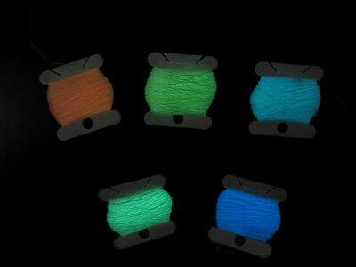 Hot New Glow in the dark thread/Luminary threadmoonlight thread 500meter 5spool