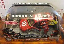 NEW Transformers Human Alliance DOTM Leadfoot Mechtech Sergeant Detour Steeljaw