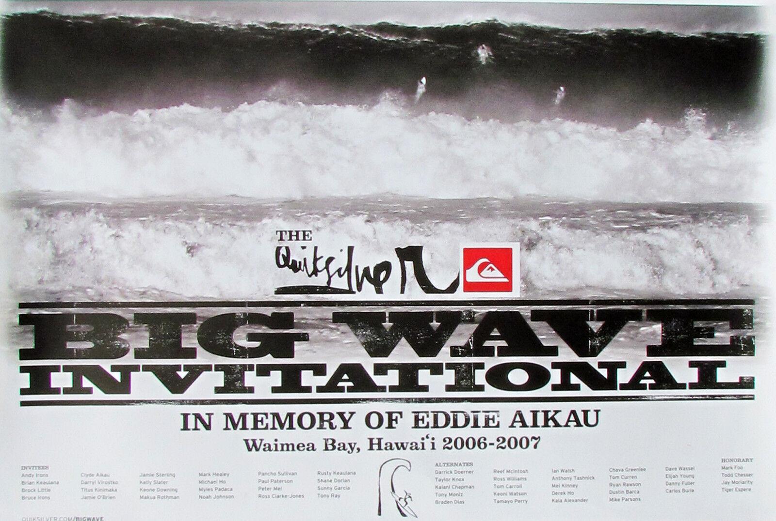 2006 Eddie Aikau Waimea Hawaii Original De Menta Big Wave Surfing concurso Cochetel