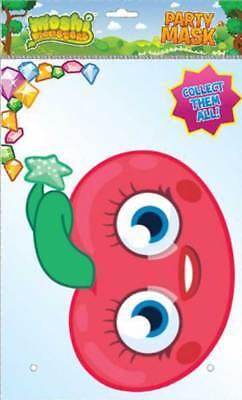 100% Vero Moshi Monsters Luvli Di Cartone Maschera-di Alta Qualità Lucentezza Scatola Di Cartone Con Gli Occhi Fori-mostra Il Titolo Originale