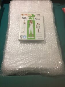 Nintendo Wii Fit Plus with Balance Board Tested Works Great
